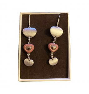 Echo/Love Earrings