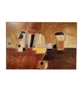 Abstract headboard 70 x 100
