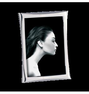 Shiny metal photo holder