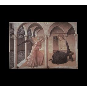 Annunciation on Canvas