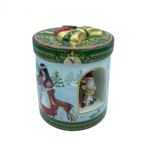 Carillon Con Tealight Tondo Biancaneve Christmas Toys