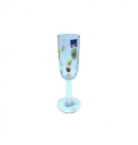 Set 6 Bicchieri Champagne Millefiori