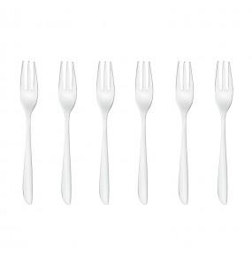 Set 6 forchette dolce Leaf