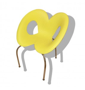 Ripple Chair - Moroso - Yellow