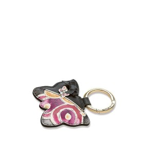 Black Butterfly Ring Keys Door
