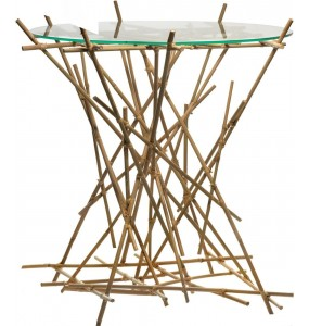 Blow up Bamboo Low Table